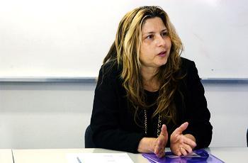 A coordenadora Rosana Baeninger