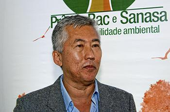 O orientador Edson Matsura