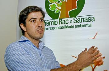Eduardo Barbosa, um dos contemplados