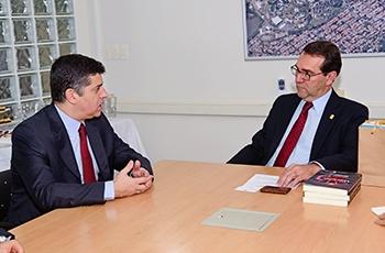 O ministro e o coordenador-geral