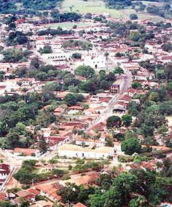 Vista de Pirenópolis: ponto estratégico