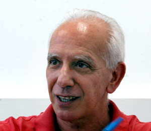 O professor Waldir Quadros, Foto: Antoninho Perri