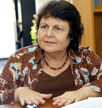 """A professora Maria Isabel Baltar da Rocha, pesquisadora do Nepo: """"O peso deste anteprojeto está no caminho que ele percorreu e no respaldo lhe é dado"""" (Foto: Antoninho Perri)"""
