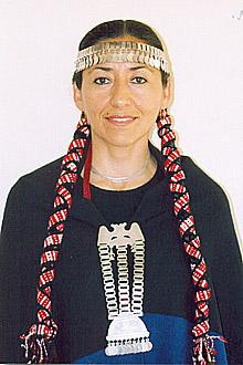 """Elba Guillermina Soto Veloso, autora do livro: """"Espero levar uma contribuição para o avanço na interlocução entre os mapuche e os chilenos"""" (Foto:Divulgação/Antoninho Perri)"""