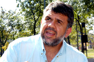 O agrônomo Marcos Antônio da Silva (Fotos: Antônio Scarpinetti/Antoninho Perri)